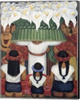 Flower Festival: Feast of Santa Anita, 1931 Fine-Art Print