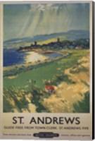 Vintage Golf - St Andrews Fine-Art Print