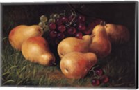 Pears and Grapes Fine-Art Print