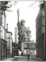 Statue of Liberty in Paris, 1886 Fine-Art Print