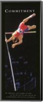 Commitment  Pole Vaulter Fine-Art Print