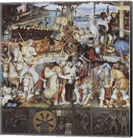 Disembarkation Of The Spanish At Veracru Fine-Art Print