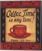 Coffee Time Is Anytime Fine-Art Print