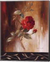 Crimson Rose I Fine-Art Print