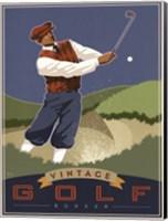 Vintage Golf - Bunker Fine-Art Print