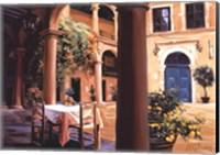 A Lemon Scented Courtyard Fine-Art Print