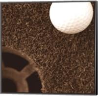 Sepia Golf Ball Study II Fine-Art Print