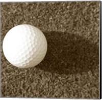 Sepia Golf Ball Study III Fine-Art Print