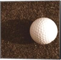 Sepia Golf Ball Study IV Fine-Art Print