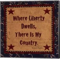 Where Liberty Dwells Fine-Art Print