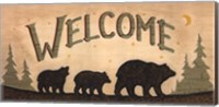 Bear Welcome Fine-Art Print