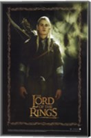 Lord of the Rings: Fellowship of the Ring Legolas Greenleaf Fine-Art Print