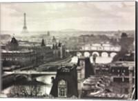 River Seine and the City of Paris Fine-Art Print
