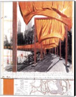 The Gates, Project for Central Park, New York City Fine-Art Print