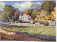 Early Autumn Farm Fine-Art Print