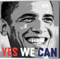 Barack Obama:  Yes We Can Fine-Art Print