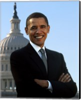 Barack Obama - Portrait (Style B) Fine-Art Print