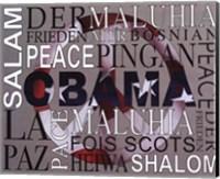 Obama - Peace Fine-Art Print