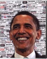 Obama - Headlines Fine-Art Print