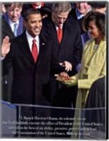 Obama - Inauguration Fine-Art Print