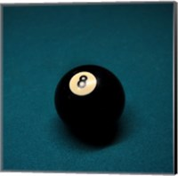 8 Ball on Blue Fine-Art Print