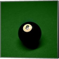 8 Ball on Green Fine-Art Print