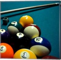 Pool Table II Fine-Art Print