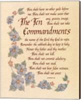 The Ten Commandments Fine-Art Print
