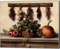Hanging Dried Herbs Fine-Art Print
