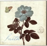 Touch of Blue II- Faith Fine-Art Print