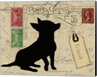 Chihuahua Silhouette Fine-Art Print