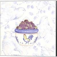 Toile & Berries II Fine-Art Print