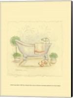 Country Bath I Fine-Art Print