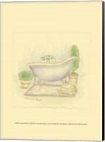 Country Bath II Fine-Art Print