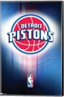 Pistons - Logo 10 Wall Poster