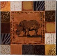 African Collage I Fine-Art Print