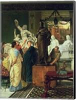 Dealer in Statues Fine-Art Print