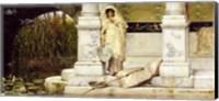 Roman Fisher Girl, 1873 (oil on panel) Fine-Art Print