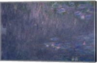 Waterlilies: Reflections of Trees, detail from the left hand side, 1915-26 Fine-Art Print