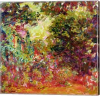 The Artist's House from the Rose Garden, 1922-24 Fine-Art Print