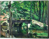 The Bridge at Maincy Fine-Art Print