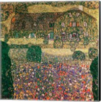 Country House by the Attersee, c.1914 Fine-Art Print