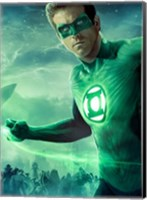 Green Lantern - Light up Wall Poster