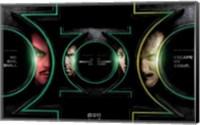 Green Lantern - faces Wall Poster