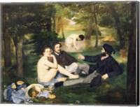Dejeuner sur l'Herbe, 1863 Fine-Art Print