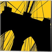 Brooklyn Bridge (yellow) Fine-Art Print