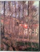 The Cote des Boeufs at L'Hermitage, Pontoise, 1877 Fine-Art Print