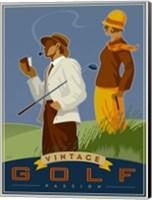 Vintage Golf - Passion Fine-Art Print