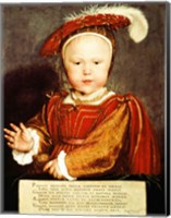 Portrait of Edward VI as a child Fine-Art Print