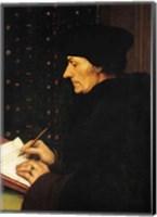 Portrait of Desiderius Erasmus Fine-Art Print